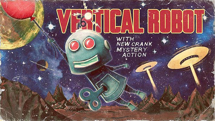 Vertical Robot - Wallpaper