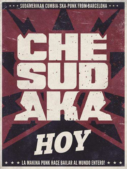 che sudaka - hoy - poster